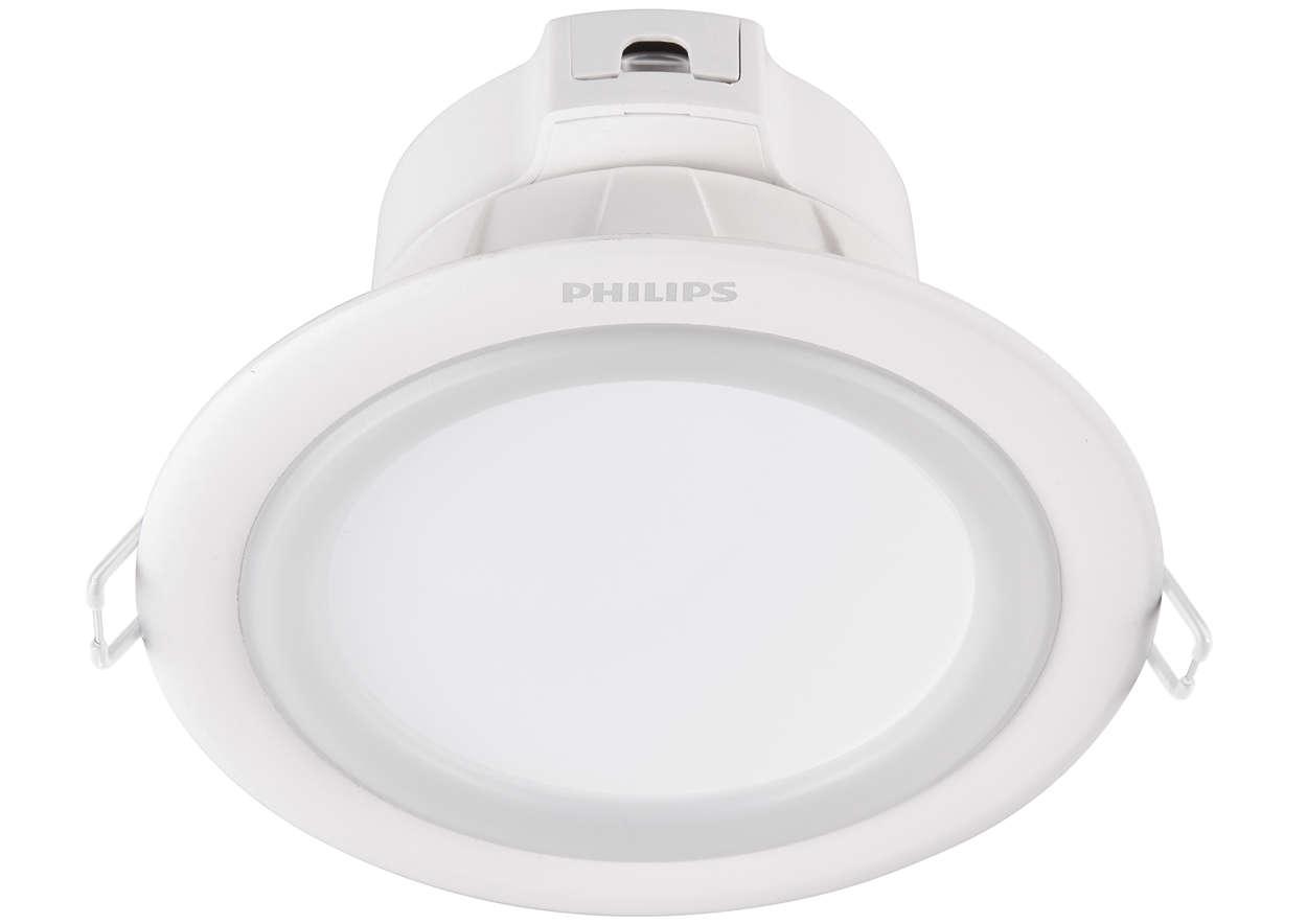 Đèn âm trần_ Lý do chọn đèn âm trần Philips
